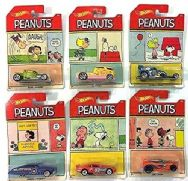 Hot Wheels Peanuts Snoopy Complete Collection Full Set of 6 - DWF03